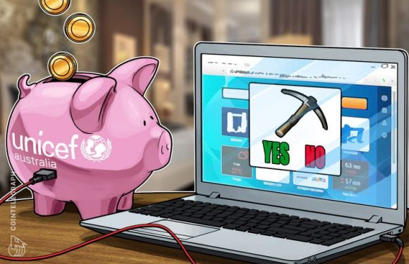 UNICEF Australia Offers Users Option To Mine Crypto As Donation