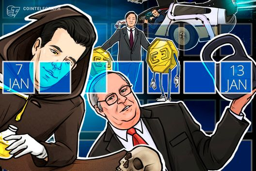Hodler's Digest, Jan.7–13: Top Stories, Price Movements, Quotes and FUD of the Week